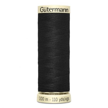 000 Black Gutermann Sew All Thread