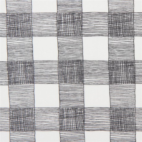 Black And White Checkered Fabric By Moda Kawaii Fabric Shop