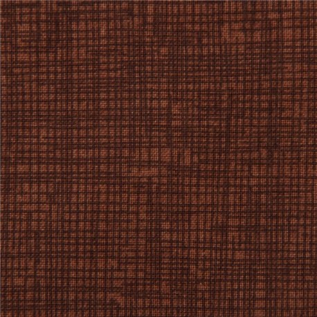 Coffee Brown Grid Pattern Sketch Fabric Timeless Treasures