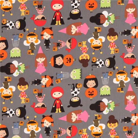 Grey robert kaufman fabric children halloween costume for Grey childrens fabric