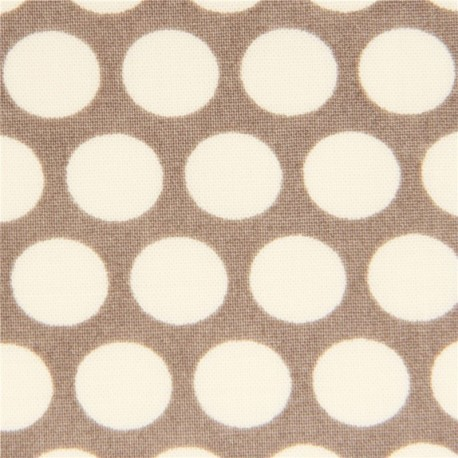 Grey Birch Organic Fabric From The USA With White Dots 174673 1.JPG
