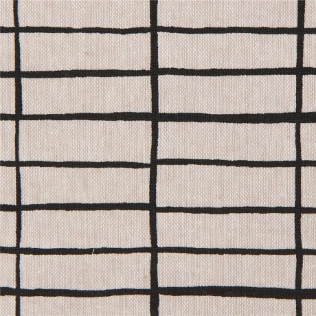 Linen And Cotton Natural Color Rectangle Pattern Fabric By Robert