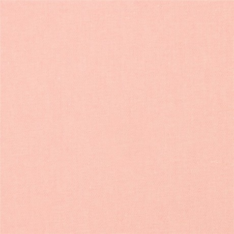 salmon pink solid cloud 9 extra wide organic cotton denim fabric