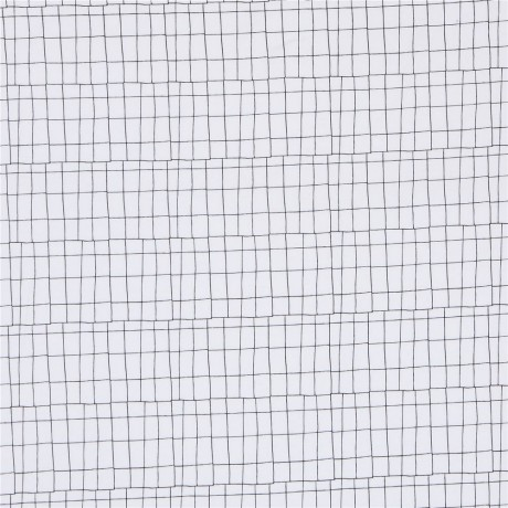 White With Black Line Rectangles Grid Design Knit Fabric Dear Stella